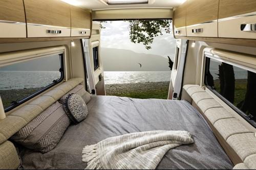 Inside Campervan