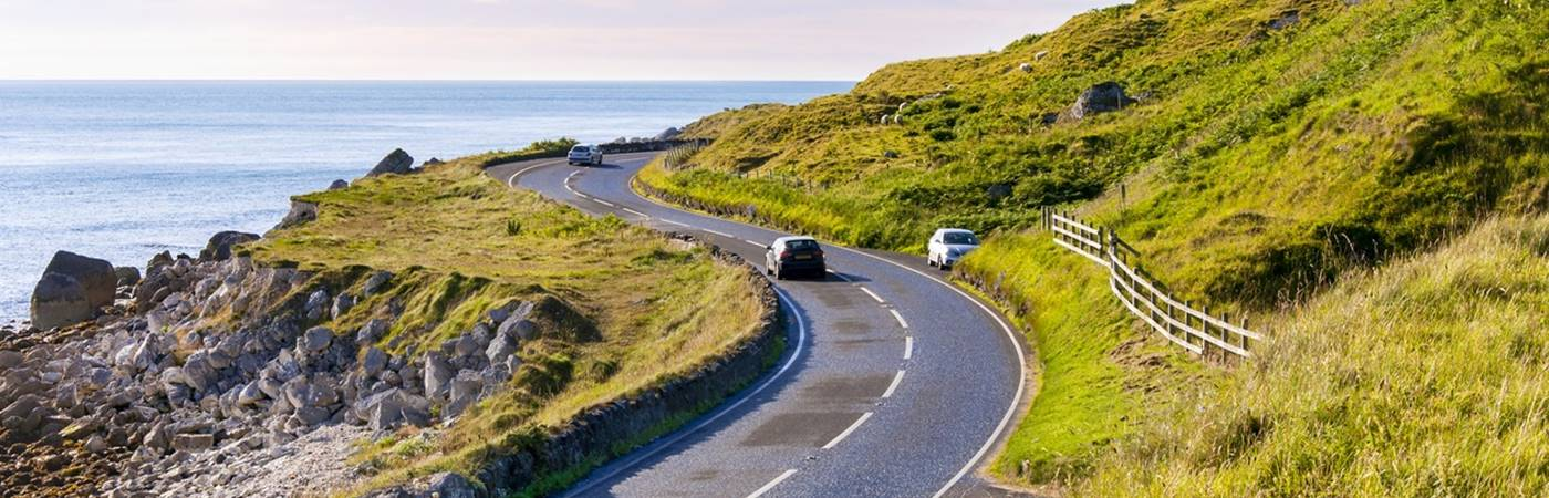 Take a spin along some of Britain's spectacularly scenic routes...