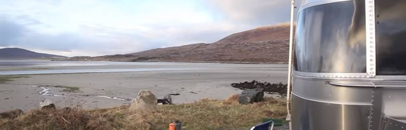 Winter Caravanning in the Outer Hebrides