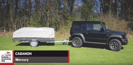 Win a trailer tent and accessories worth more than £10,000