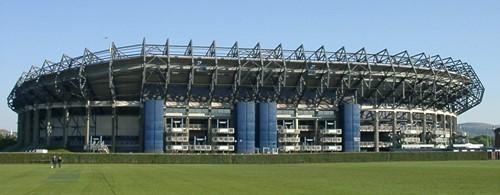 Murrayfield Stadium camping