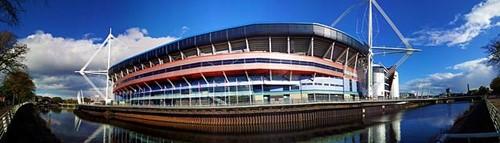 Millennium stadium camping