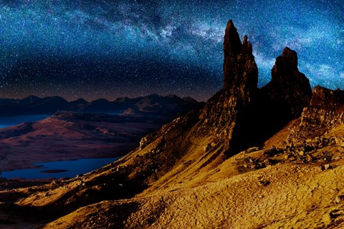 Stargazing, Old Man of Stor Scotland